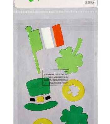 St. Patrick's Day Decor Irish Flag Gel Clings
