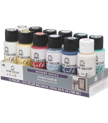 FolkArt Home Decor Chalk Modern Basics Value Set