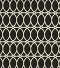 Home Decor 8\u0022x8\u0022 Fabric Swatch-HGTV HOME Curl Up Onyx