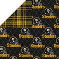 Pittsburgh Steelers Double Faced Quilt Fabric