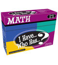 Teacher Created Resources I Have, Who Has Math Game, Grade 3-4