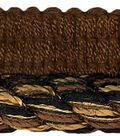 Conso 3/8in Brown/gold/black Cord W/ Lip