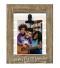 Shutter Photo Frame with Clip 8\u0027\u0027x10\u0027\u0027-Family is Forever