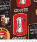 Anti-Pill Plush Fleece Fabric-Morning Coffee