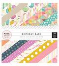 Pink Paislee Birthday Bash 6x6 Paper Pad