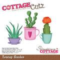 CottageCutz Die-Teacup Garden 1\u0022 To 2.3\u0022
