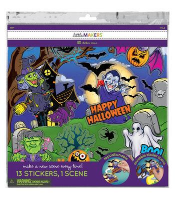 Little Makers Halloween 3D Sticker Stackers