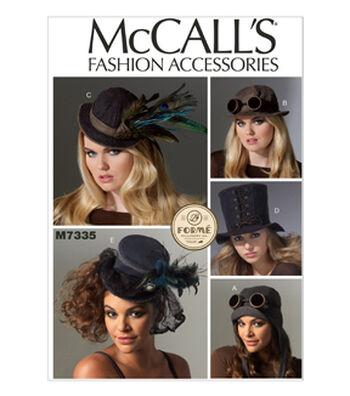 McCall's Misses Headgear-M7335