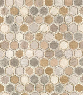 "IMAN Home Lightweight Decor Fabric 53""-Cobble Hill Alabaster"