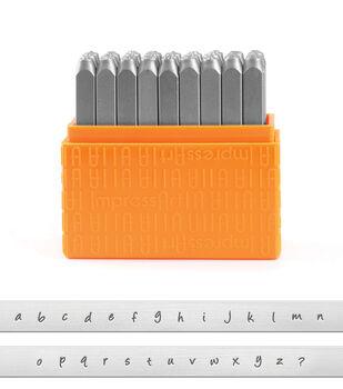 ImpressArt 27 pk 3 mm Basic Bridgette Stamps-Lowercase Letters