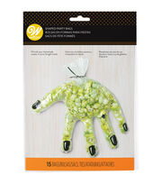 Wilton Shaped Party Bags-Clear Hand, , hi-res