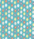 Snuggle Flannel Fabric -Monkey Leaves