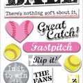 Kay Softball Chipboard Sticker