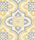 P/K Lifestyles Upholstery Fabric 54\u0022-Lattice Imprint/Sunshower