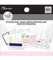 The Happy Planner Girl Tiny Sticker Pad-Glam Girl, , hi-res