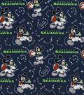 Seattle Seahawks Cotton Fabric-Mickey