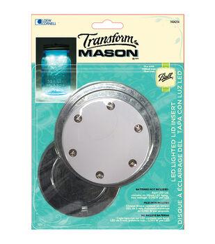 Transform Mason Jar LED Lid Insert-Dual Pack