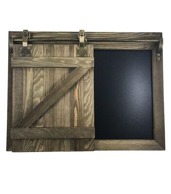Sliding Barn Doors Chalkbaord