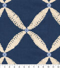 Tommy Bahama Multi-Purpose Decor Fabric 54\u0027\u0027-Riptide Winward Embroidery