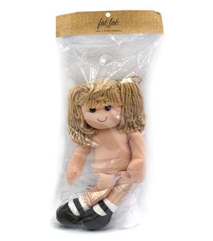 Fab Lab Yarn Hair Doll