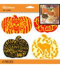 Jolee\u0027s Boutique Halloween Pumpkins Gel Clings