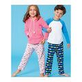 Kwik Sew Pattern K0251 Girls\u0027 & Boys Top & Pants-Size XXS-XS-S-M-L