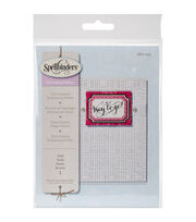 Spellbinders Small Embossing Folder-Grid, , hi-res