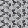 Snuggle Flannel Fabric-Black & Gray Burst