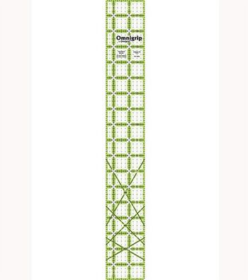 "Omnigrip 2.5"" x 18"" Non-Slip Quilter's Ruler for Strips&Sashing"