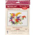 RIOLIS 15.75\u0027\u0027x11.75\u0027\u0027 Counted Cross Stitch Kit-Freesia
