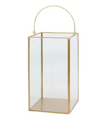 Hudson 43 9.4'' Frame Lantern-Copper