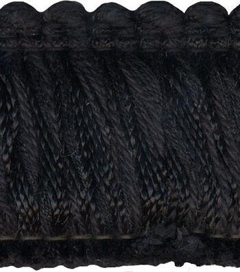 Conso 1-3/4in Black Fringe Brush