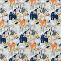Snuggle Flannel Fabric-Monkey Friends