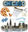 Jolee\u0027s Boutique Themed Stickers-Chicago