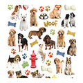 Life Organized 176 pk Micro Stickers-Dogs