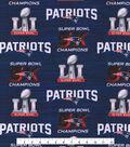 New England Patriots Cotton Fabric -Superbowl