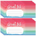 Teacher Created Resources Watercolor Great Job Awards, 25/Pack