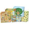 Karen Foster Kids\u0027 Ancestry Scrapbook Page Kit