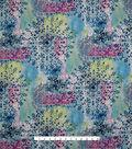 Stretch Chiffon Fabric 57\u0027\u0027-Multicolor Medallions