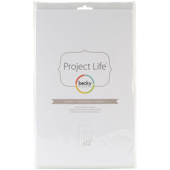 American Crafts Project Life Photo Pocket Pages Design J