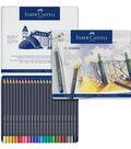 Creative Studio 24 pk Goldfaber Color Pencils in Metal Tin