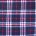 Blizzard Fleece Fabric-Navy Trad Plaid
