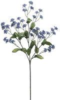 Bloom Room 19\u0022 Double Baby\u0027s Breath Spray Delphinium-Blue