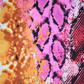Fast Fashion Knit Fabric-Abstract Snake