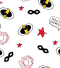 Disney Incredibles 2 Cotton Fabric -Icons
