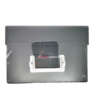 Photo Storage Box-Black