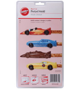Wilton Pretzel Mold-Race Cars