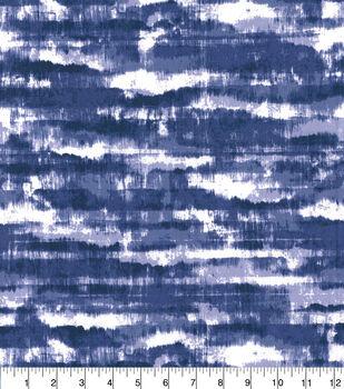 Keepsake Calico Cotton Fabric-Shibori Tie Dye Indigo