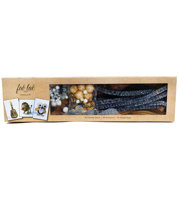 Fab Lab Giant Chenille Pie Kit 4