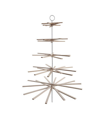 3R Studios Christmas Wood Sticks Hanging Board Display Tree